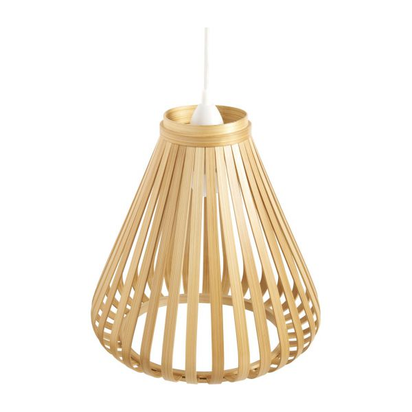 Bamboo lampshade for ceiling light habitat lampshade for ceiling light n1 mozeypictures Gallery