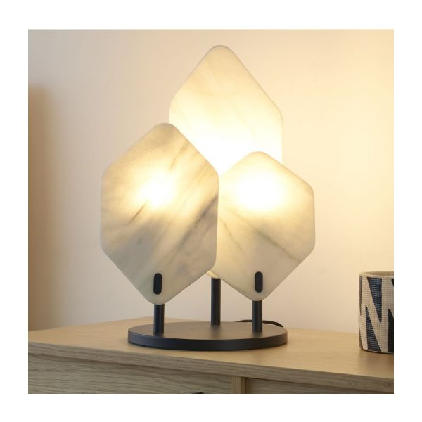 Marble table lamp n°6
