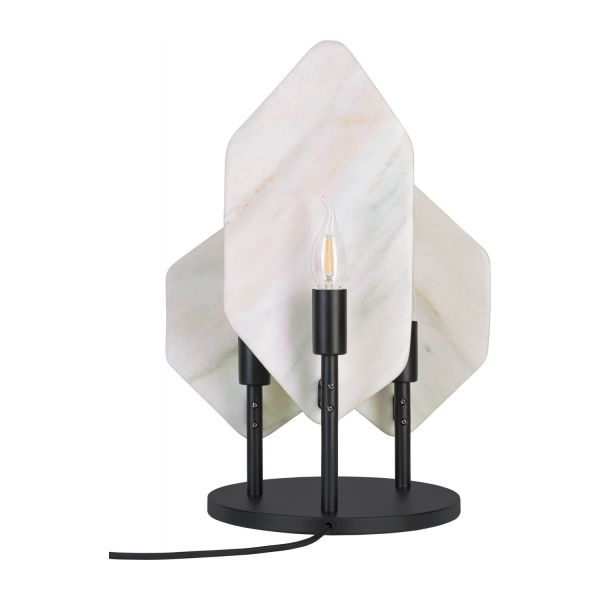 Marble table lamp n°4
