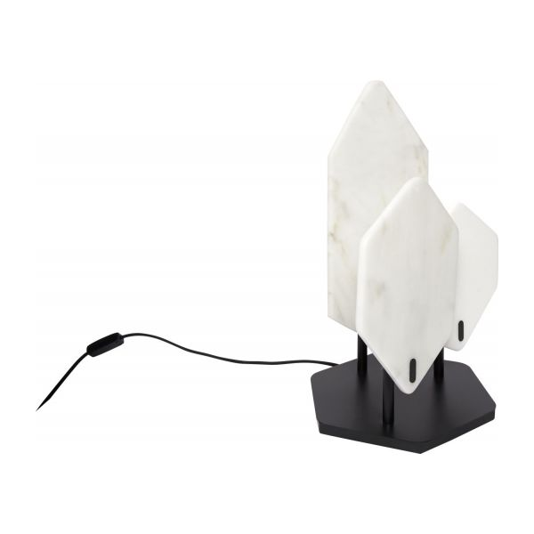 Marble table lamp n°1