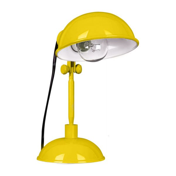 tommy lampe de bureau jaune en acier laqu habitat. Black Bedroom Furniture Sets. Home Design Ideas