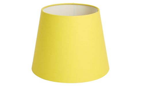 Small yellow lampshade