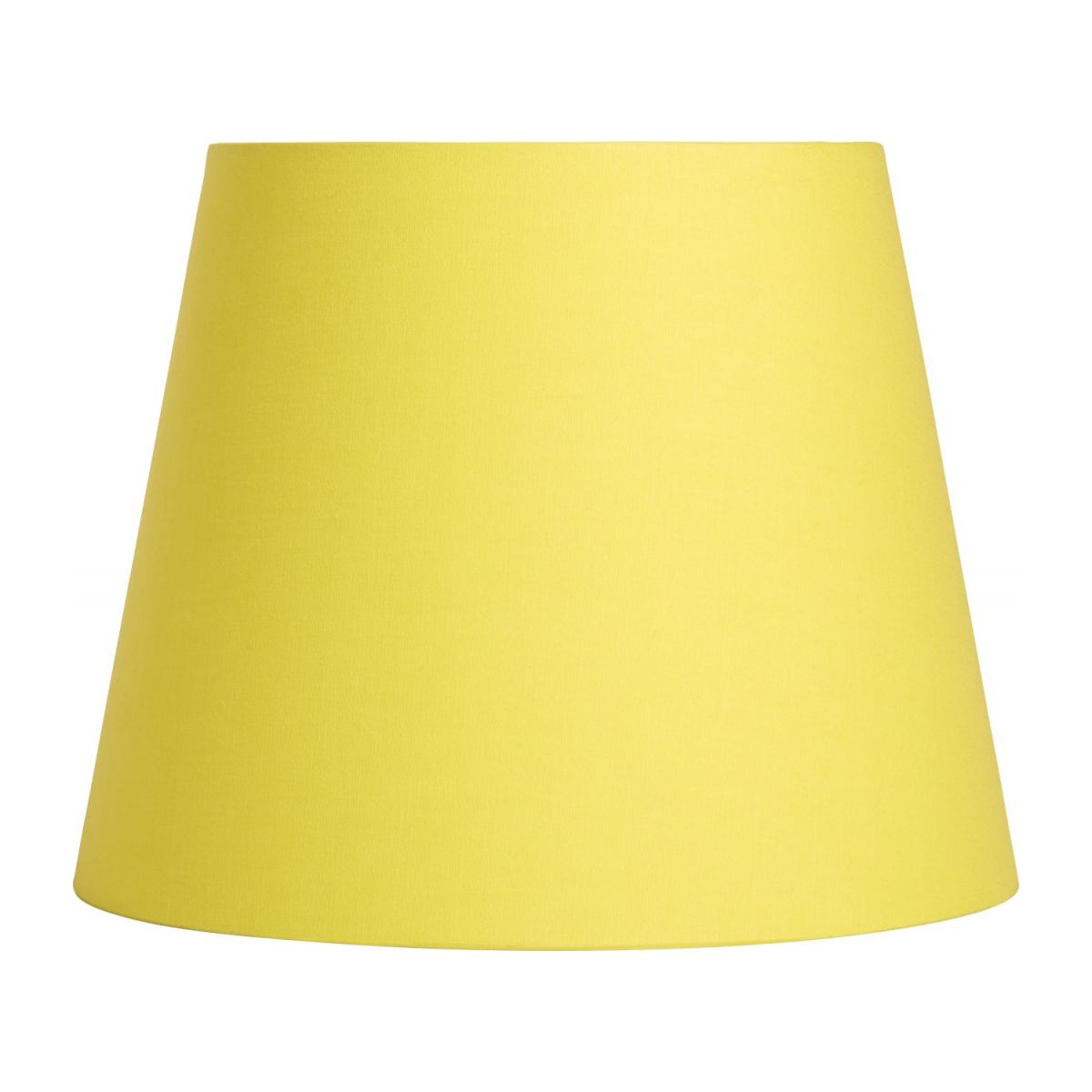 Large yellow lampshade n°2
