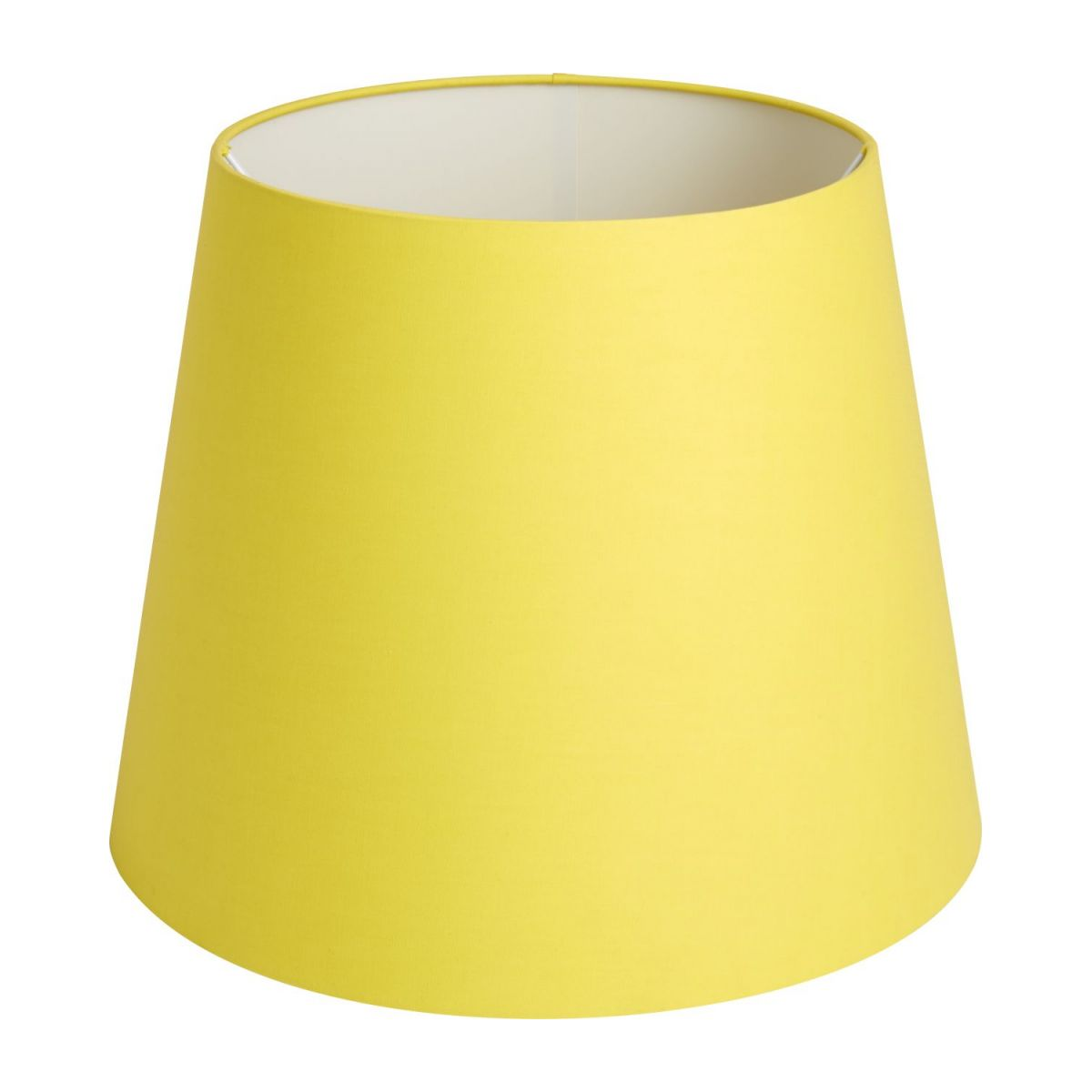Large yellow lampshade n°1
