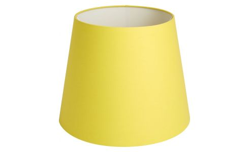 Large yellow lampshade