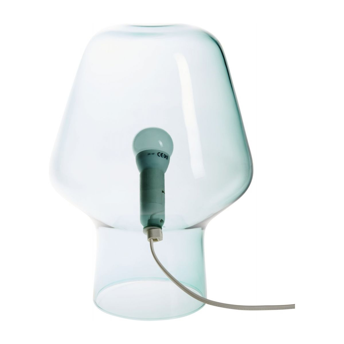 Small blue table lamp n°6