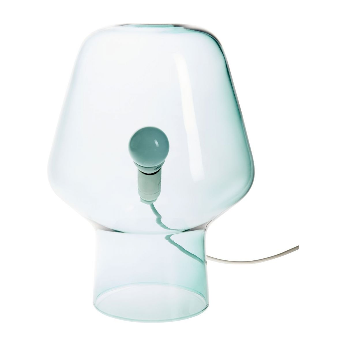 Small blue table lamp n°5