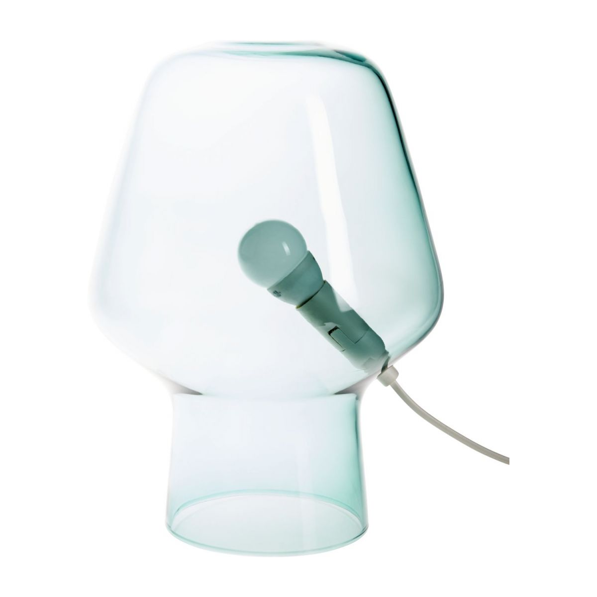 Small blue table lamp n°3