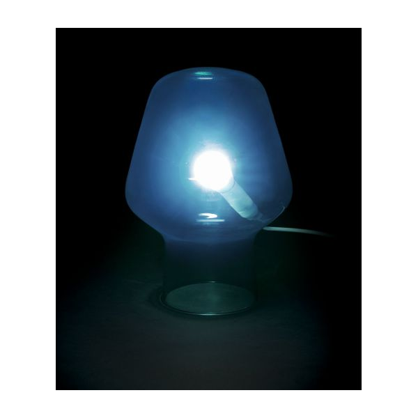 Small Blue Table Lamp N°2