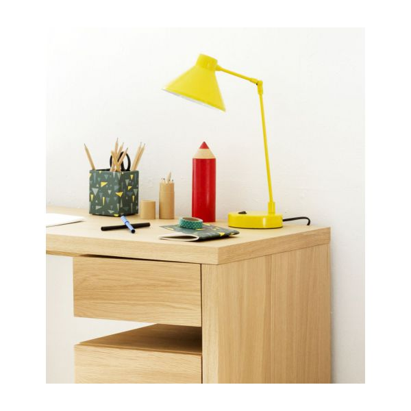 Desk lamp made of metal, yellow n°7