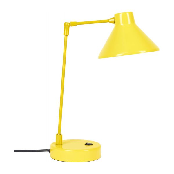 Desk lamp made of metal, yellow n°6