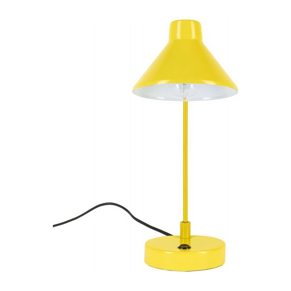 bobby lampe de bureau en m tal jaune habitat. Black Bedroom Furniture Sets. Home Design Ideas