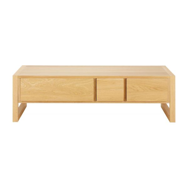 hana ii - oak coffee table - habitat