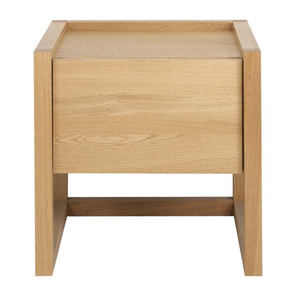 Oak bedside table n°4