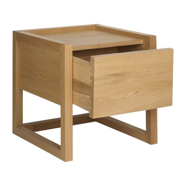 Oak bedside table n°2