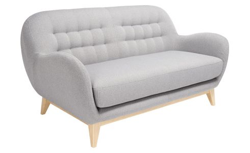 Fabric 2-seater sofa