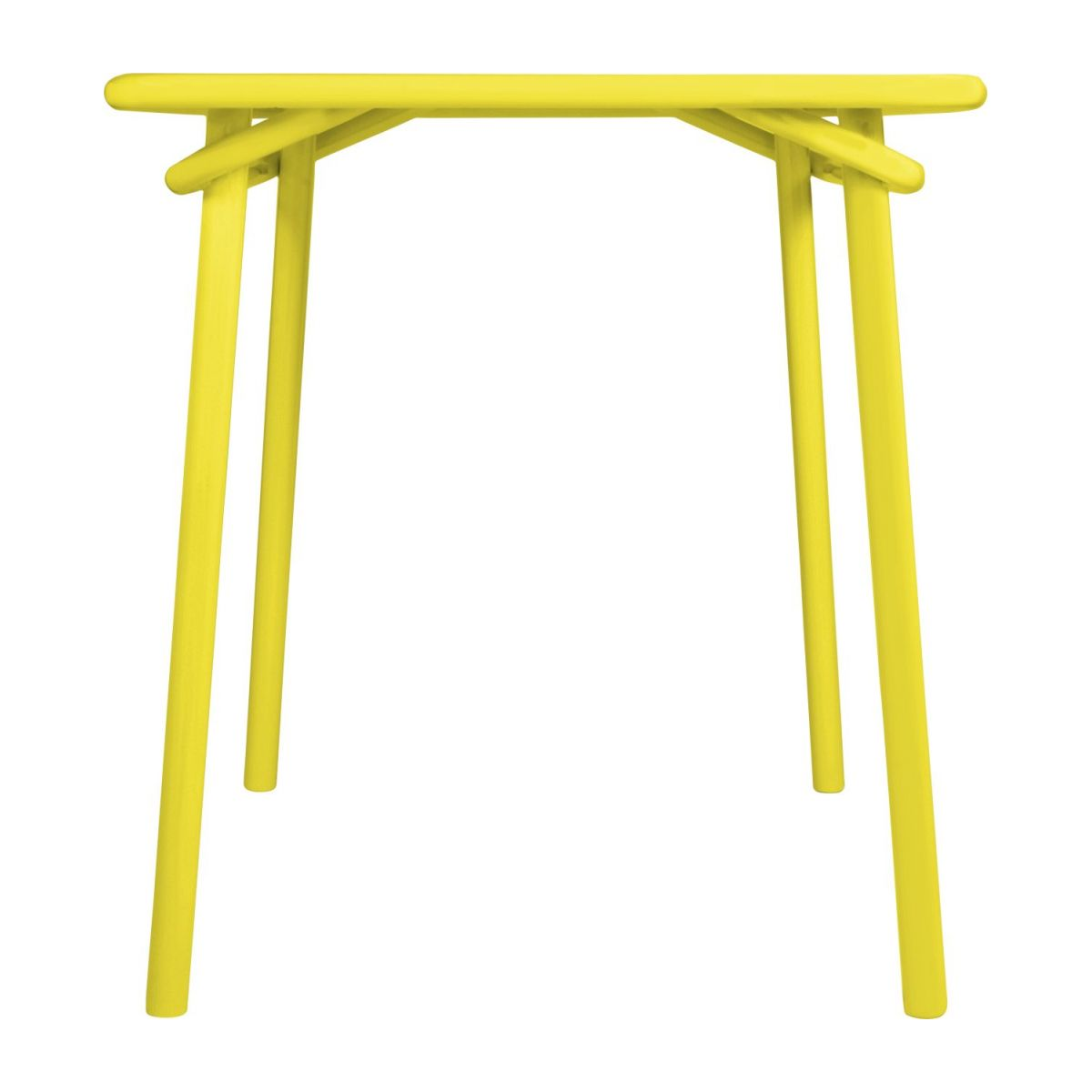 Yellow garden table n°2