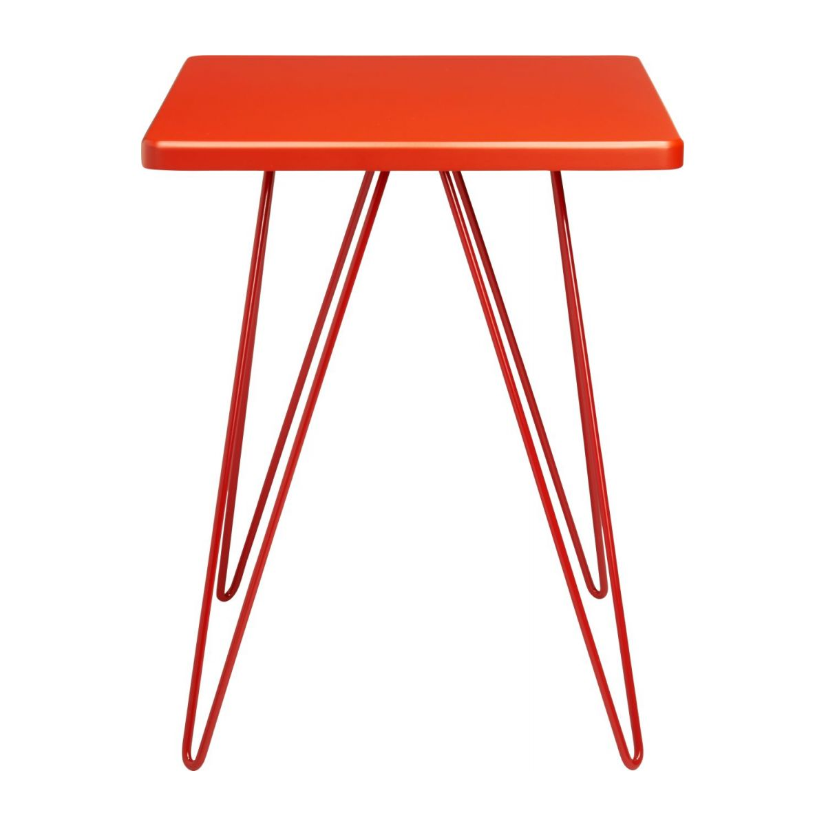 Table d'appoint rouge  n°2
