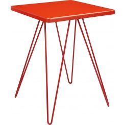 Table d'appoint rouge