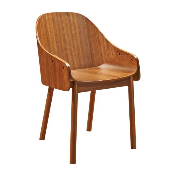 Callahan - Walnut dining room chair - Habitat