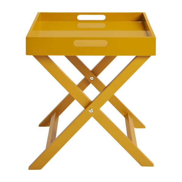 Mustard Yellow Side Table N 3
