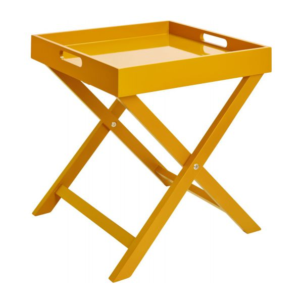 Mustard Yellow Side Table N 1