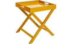 Side table, mustard