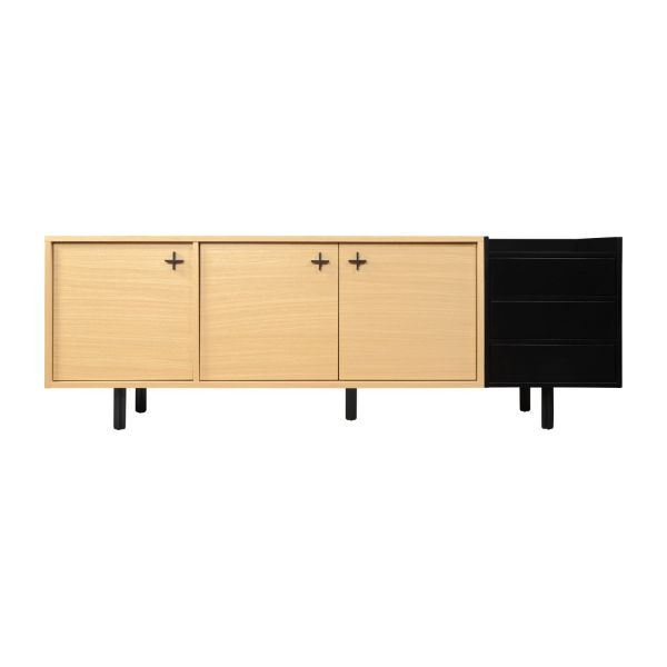 Sideboard made of oak n°3