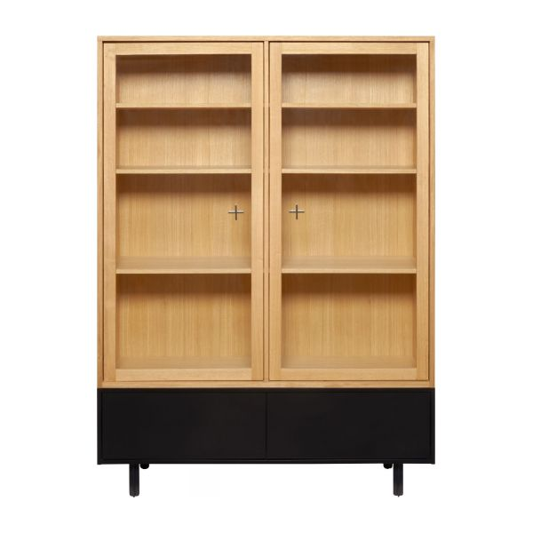 Ikenna Storage Furniture Made Of Oak And Glass