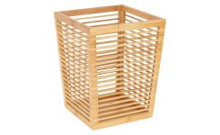 Paper basket made of bamboo