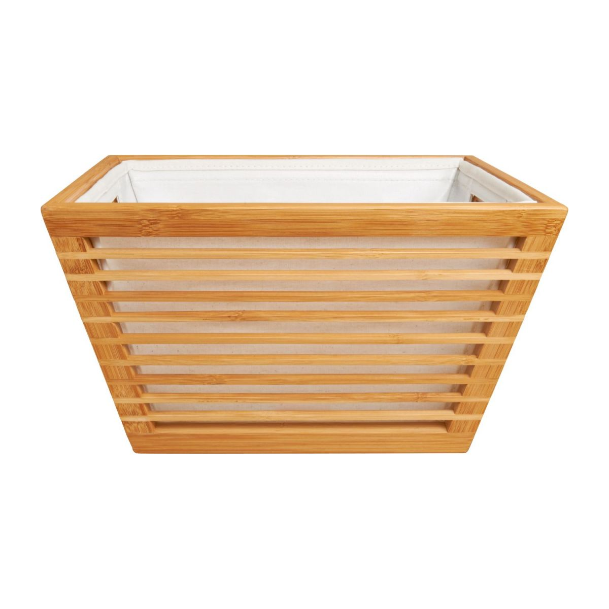 Rectangular bamboo basket 33x25 cm n°2