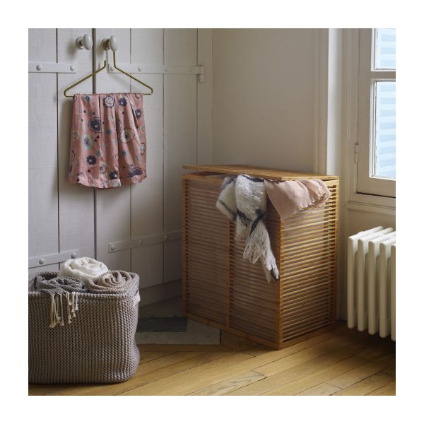 Laundry Basket Made Of Bamboo N°5