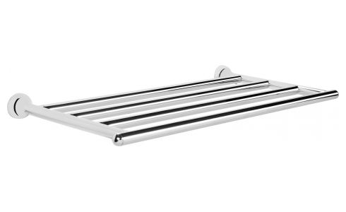 Towel shelf made in stainless steel
