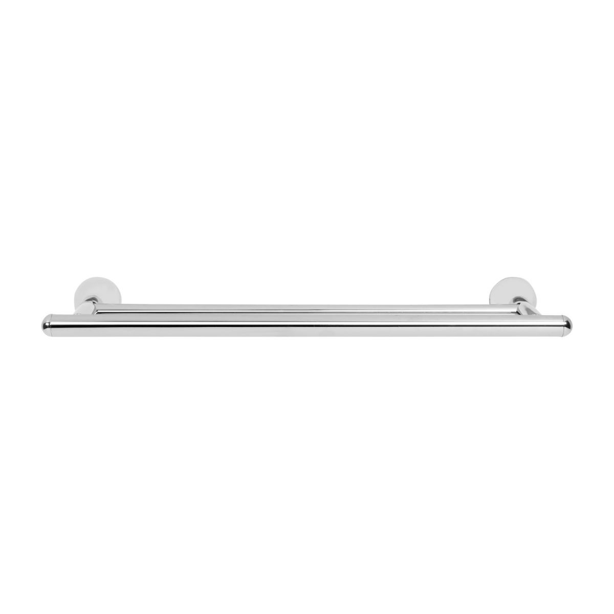 Double towel holder 45cm made in stainless steel n°2
