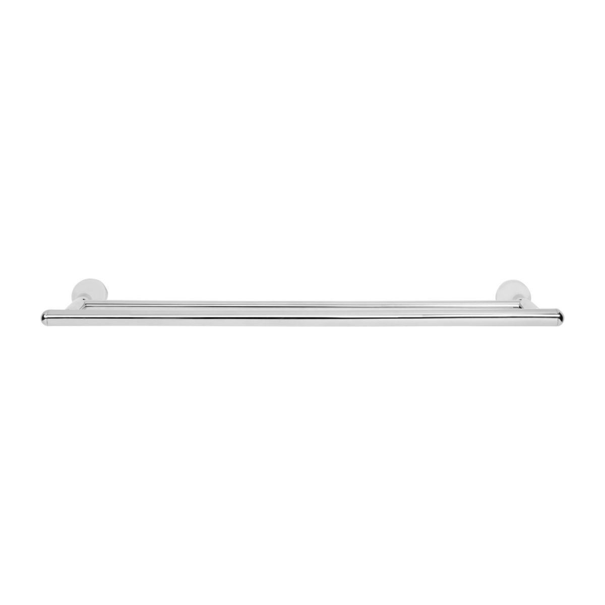 Double towel holder 60cm made in stainless steel n°2