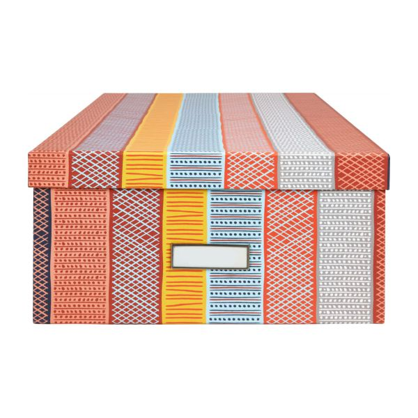 Storage box 46 cm, with patterns n°4