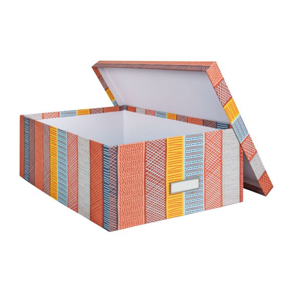Storage box 46 cm, with patterns n°2