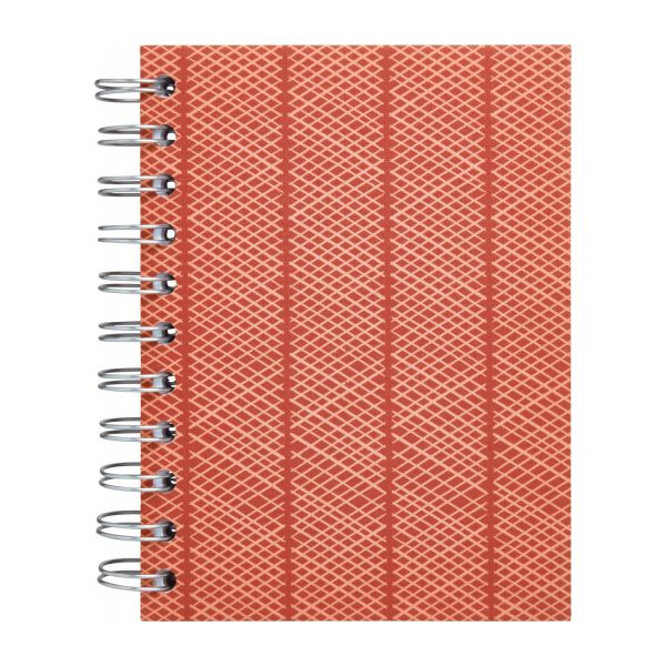 A6 notebook, red n°3