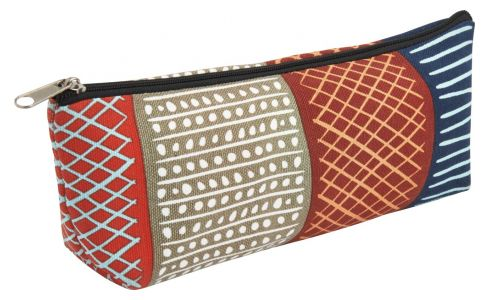 Pencil case, with patterns