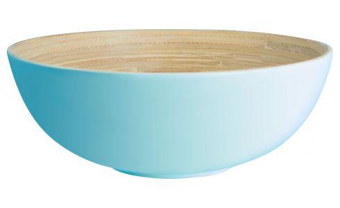 Bowl in bamboo 20cm, blue