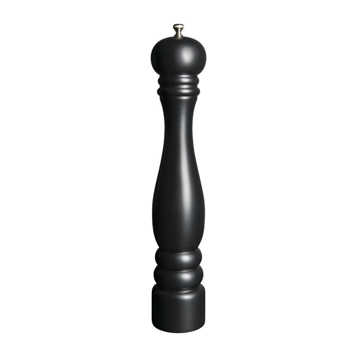 Pepper mill 42cm in hevea, black n°2