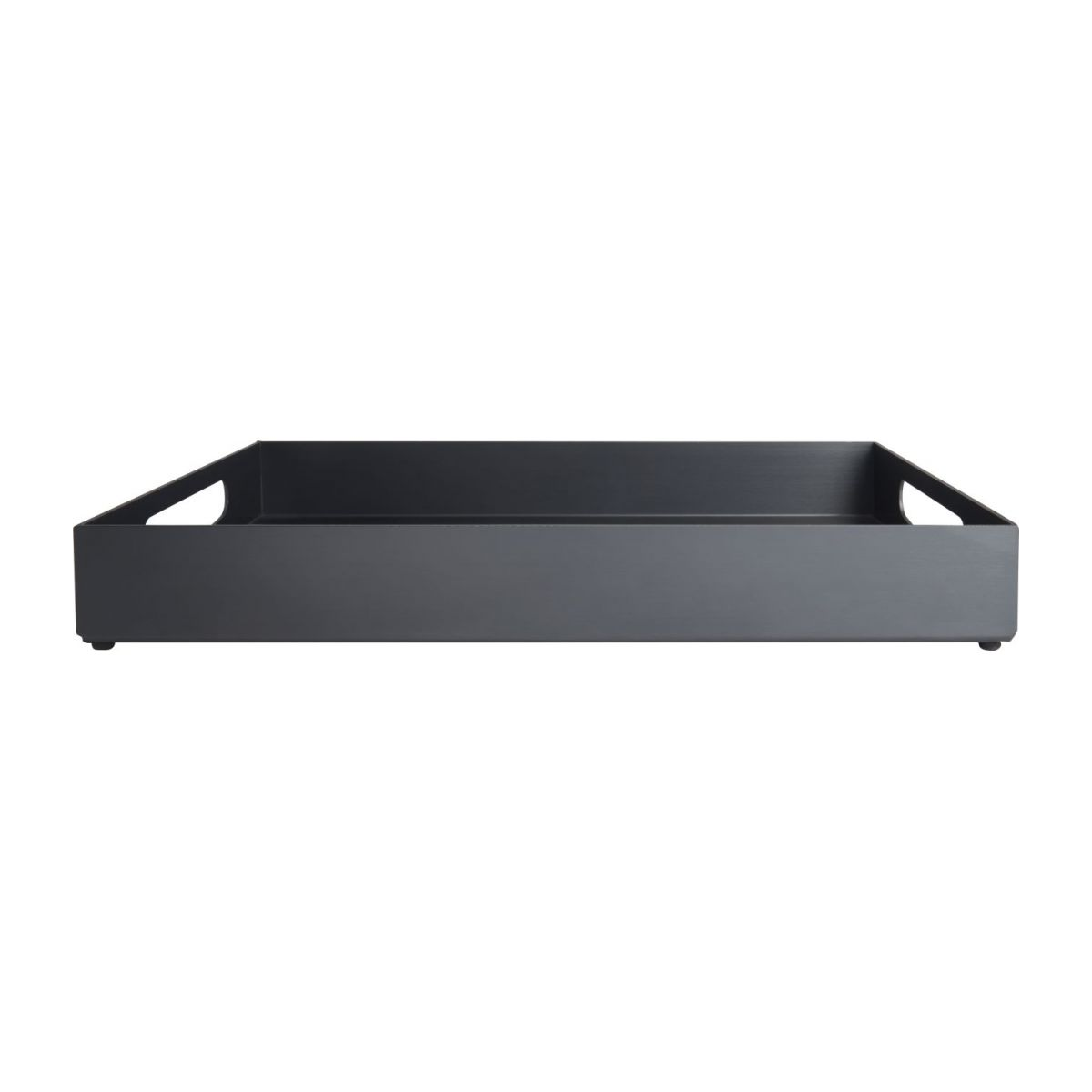 Tray in aluminium 40x25cm, black n°2
