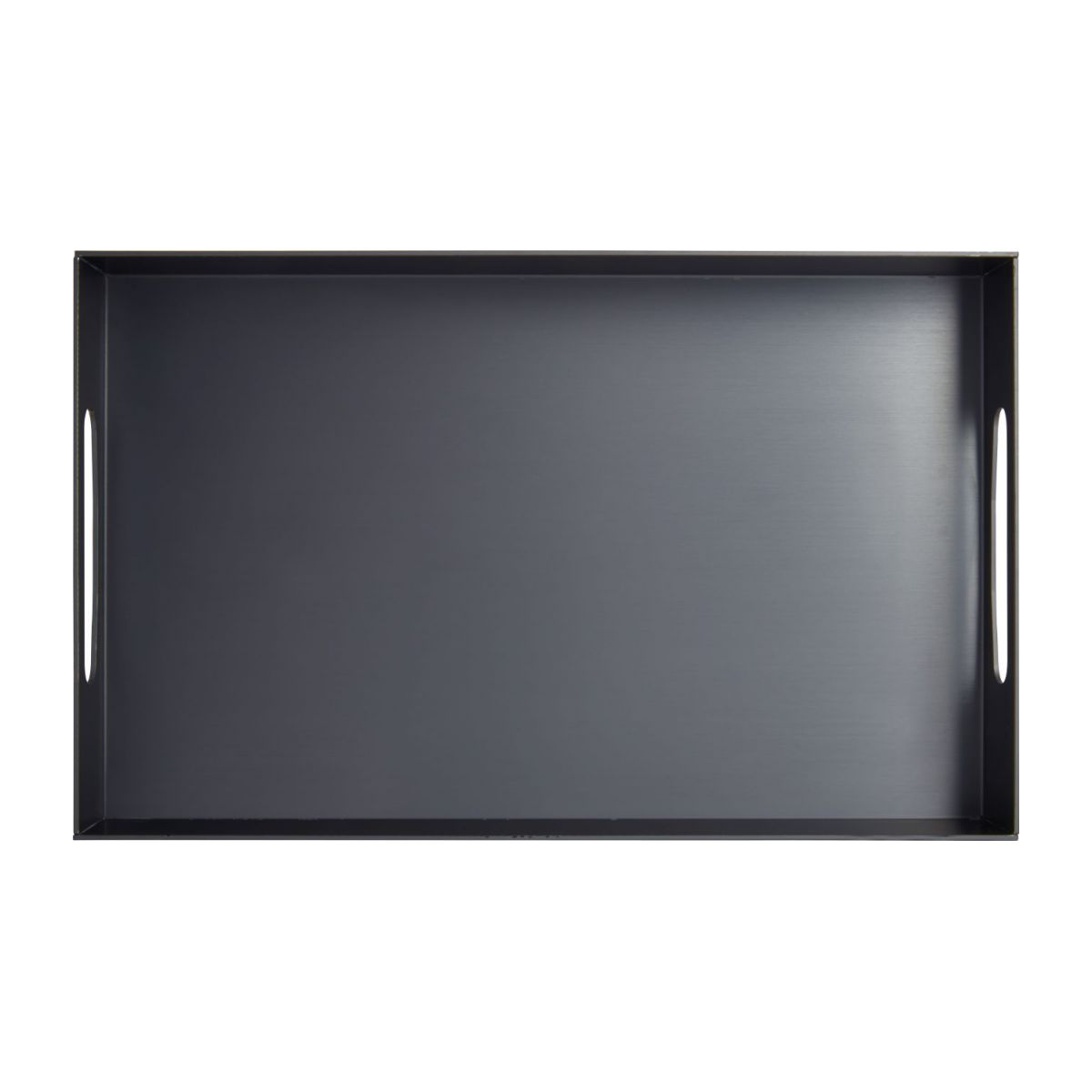 Tray in aluminium 40x25cm, black n°3