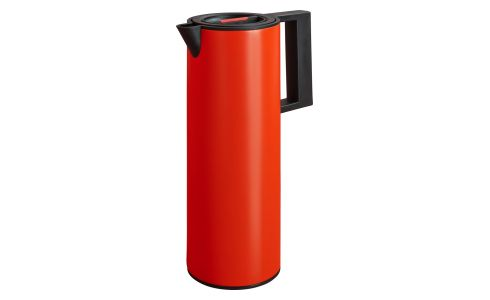 Thermos 1l in plastique, red