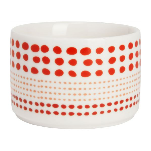 idris pack of 2 coffee cups white and red habitat