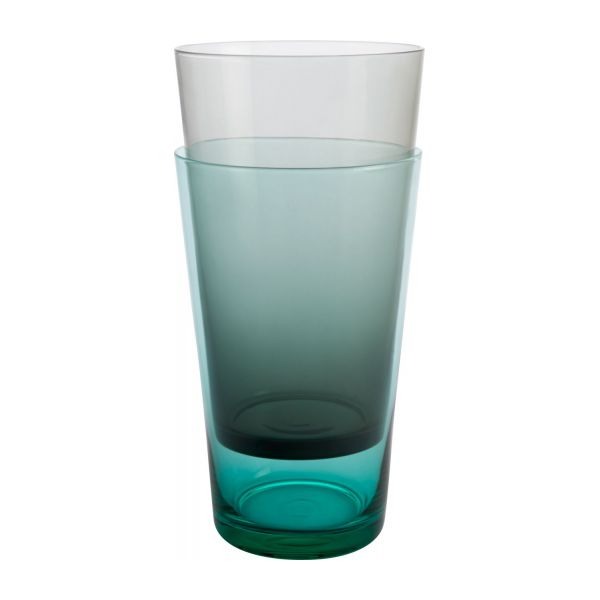 3bf800863ccc5 Devon - Tall tumbler in glass gris - Habitat