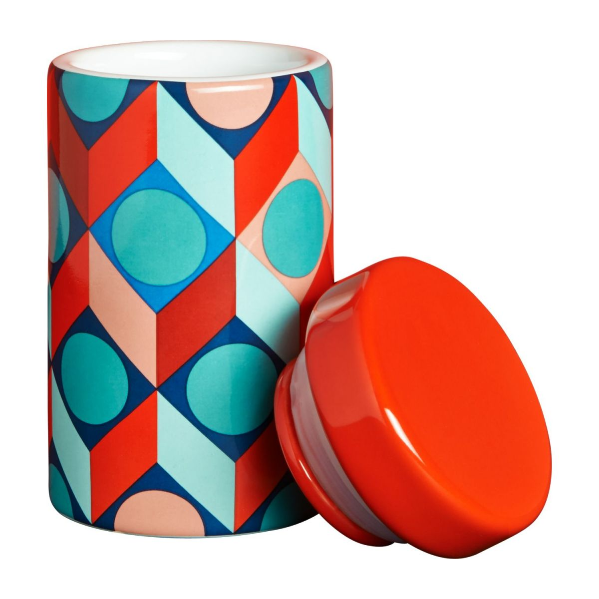 Spice jar with patterns n°2