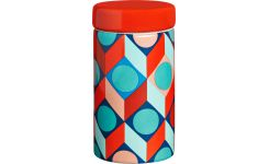 Spice jar with patterns