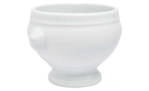 Bowl in ceramic, white 13cm