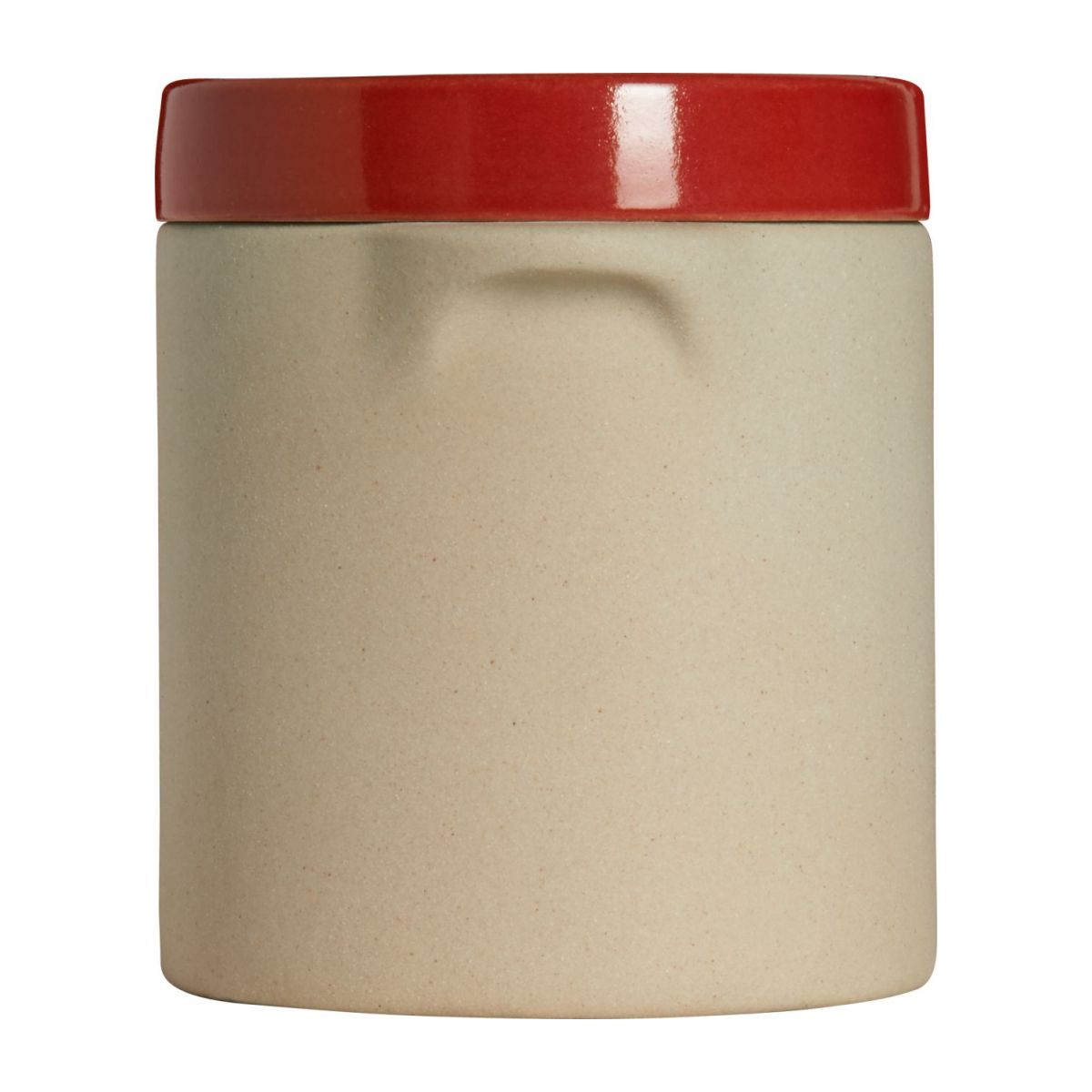 Box made in sandstone - 0,5L, natural and red n°6